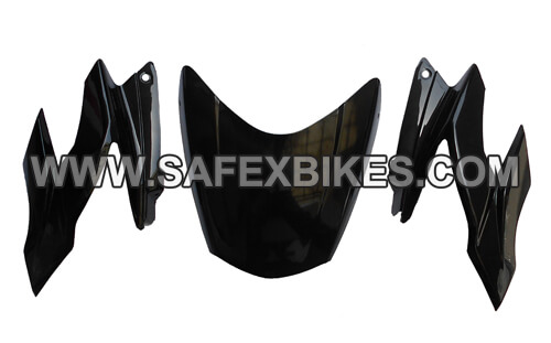 Click to Zoom Image of FRONT FAIRING (VISOR) APACHE RTR NM (BEAST) ZADON