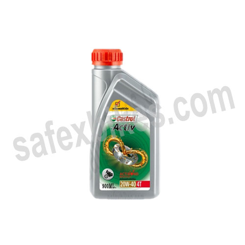Click to Zoom Image of BIKE ENGINE OIL-4T CASTROL (1 Ltr)