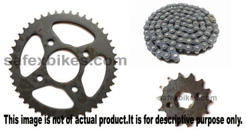 chain sprocket price for cbz xtreme 2016