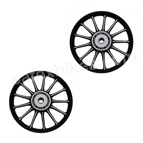 Click to Zoom Image of ALLOY WHEEL SET SUPER SPLENDOR (13 SPOKES) ZADON