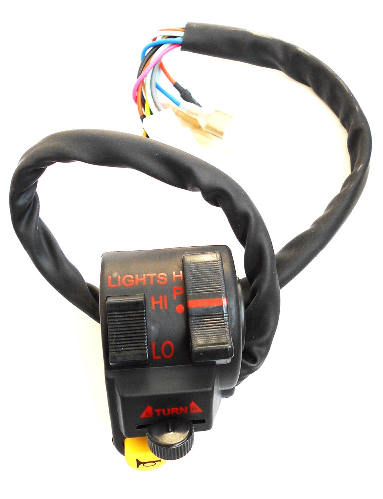 combination switch splendor plus lh swiss motorcycle parts for