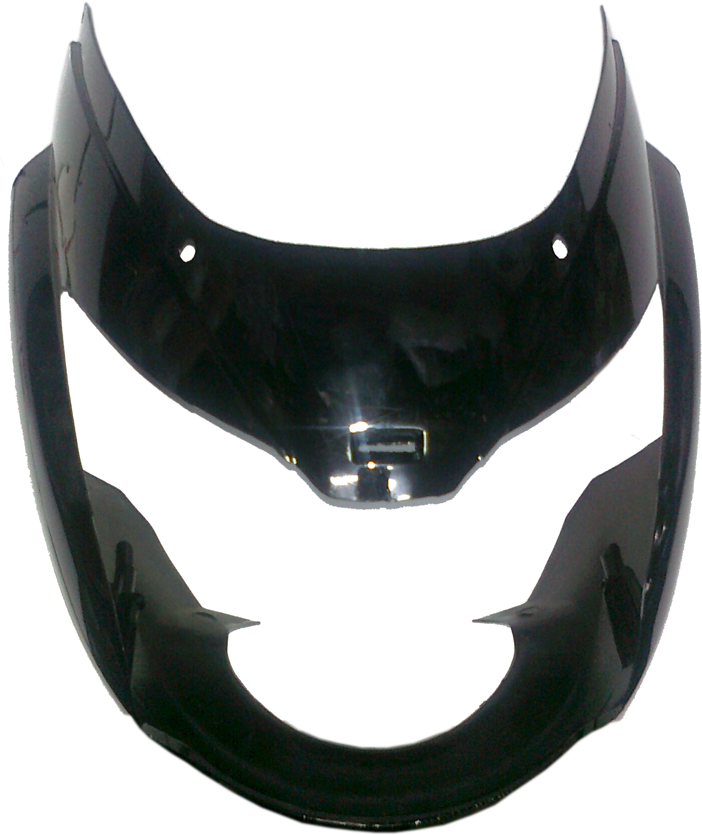 Bike stickering designs for pulsar 150 -  Front Fairing Visor Pulsar Ub With Oet Glass Safex