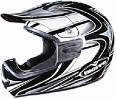HELMET SB-16 STEELBIRD FULL FACE MOTO CROSS BLACK