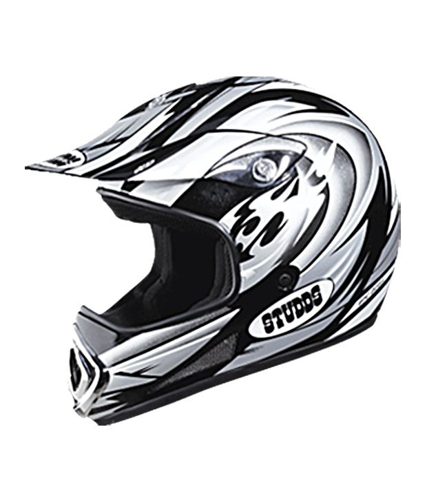 HELMET MOTOCROSS FULL FACE DEVIL DECOR STUDDS