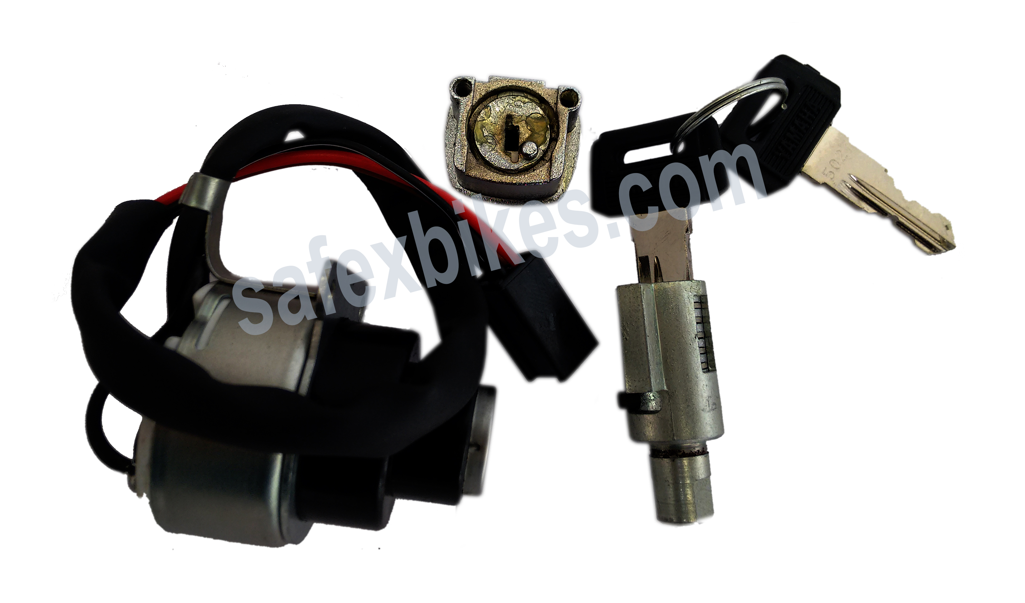 Buy LOCK KIT RX100 SET OF 3 (with fuel tank lid lock) MINDA on  % discount
