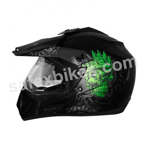 4d4223ecb4e Buy Vega motocross full face Helmet - Off Road D V Ranger (Dull Black