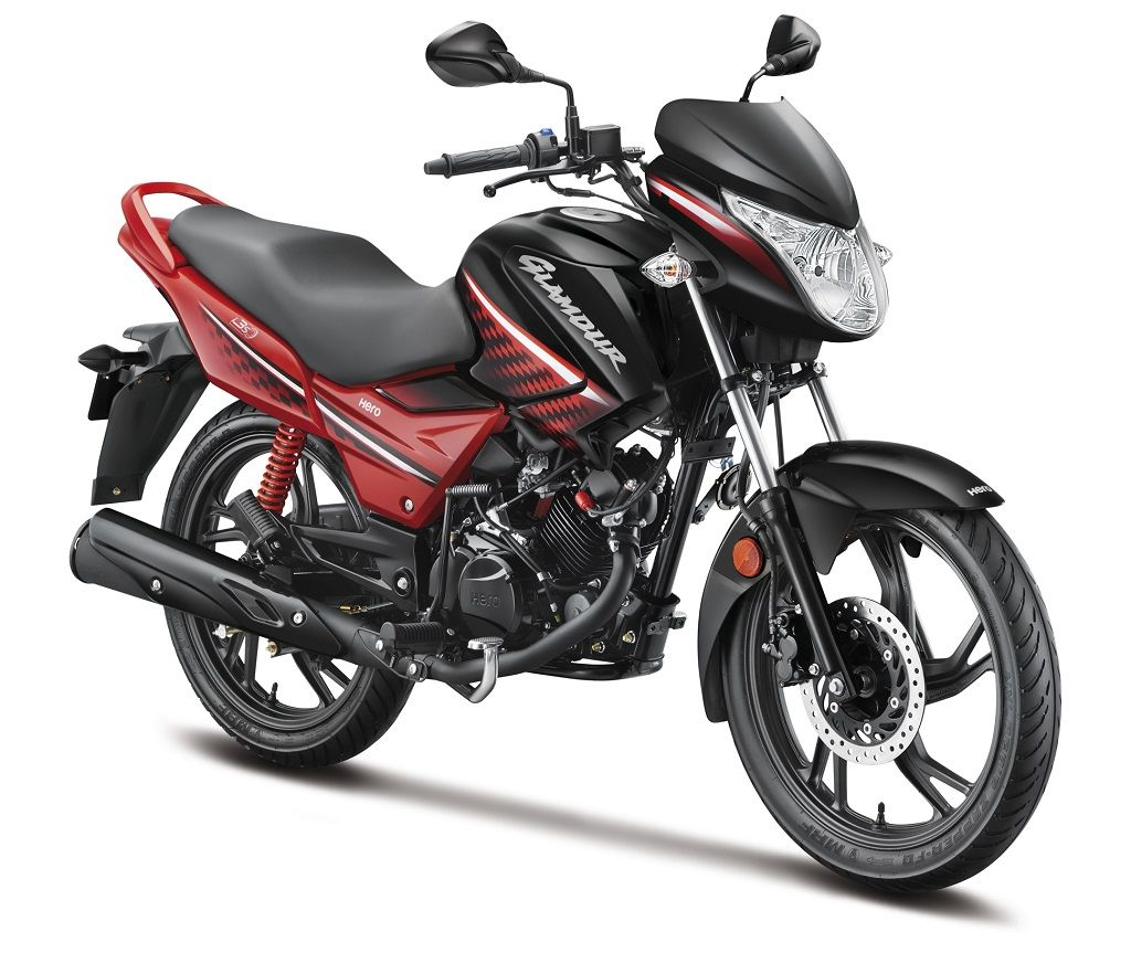 Hero motocorp GLAMOUR DIGITAL TYPE 4