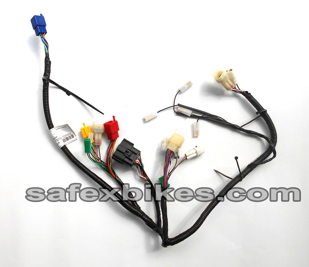 WIRING HARNESS PULSAR135 CC DTSI ES LS FRONT(Digital Meter 16 Pin Single  Socket Assy)(2010 Model)SWISS- Motorcycle Parts For Bajaj PULSAR 135 LS