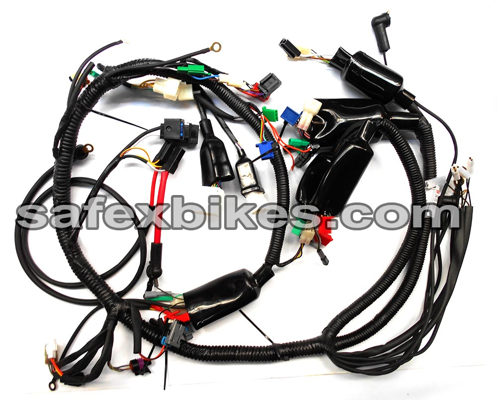 WIRING HARNESS PULSAR200 CC DTS ES(Digital Meter)SWISS- Motorcycle ...