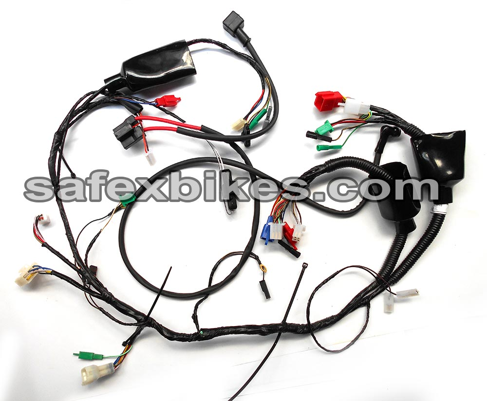 WIRING HARNESS DISCOVER DTSI 135CC ES SWISS- Motorcycle Parts For ...