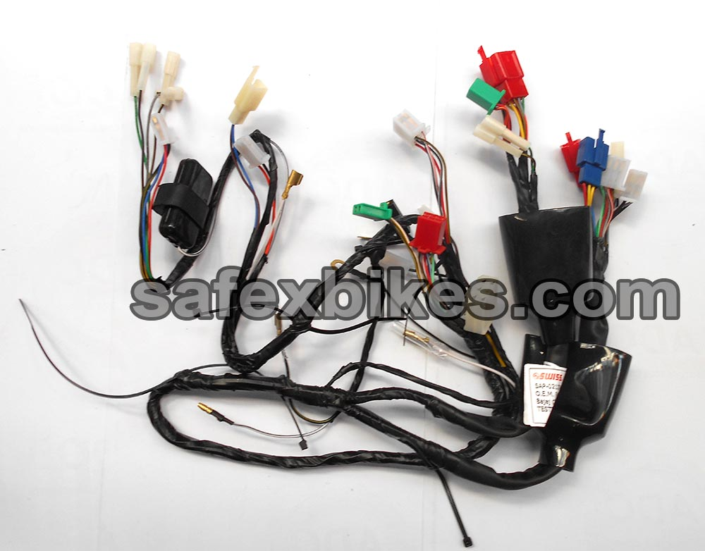 0212TA wiring harness ct100 cc dlx ks swiss motorcycle parts for bajaj swiss wiring harness price list at webbmarketing.co