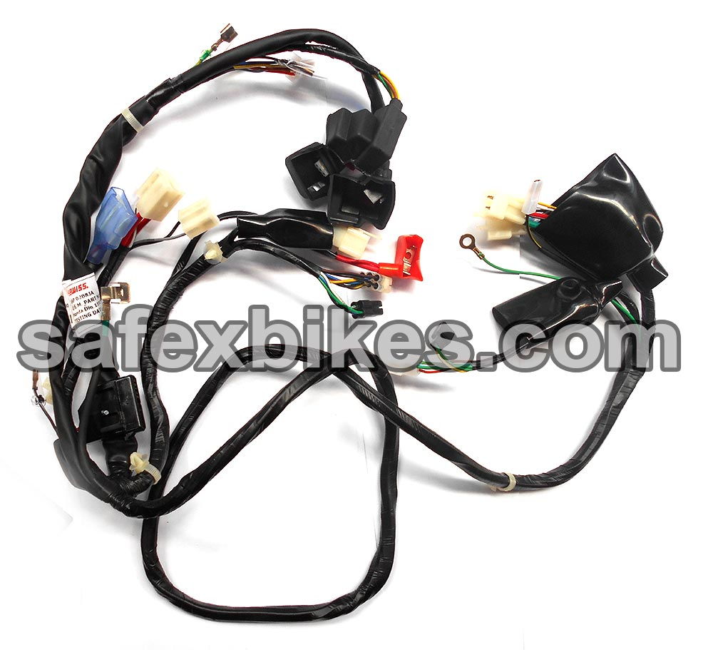 WIRING HARNESS DIO110 CC ES(2012 Model)SWISS- Motorcycle Parts For ...