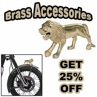 Get 25percent off on brass accessories