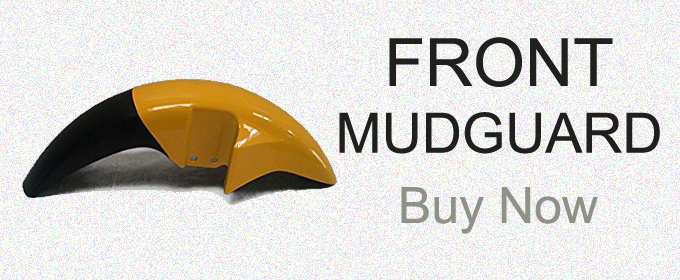 Genuine High Quality Mudguards , Fenders For Motorcycles And Scooters