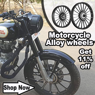 Buy Alloy wheel at 11percent discount