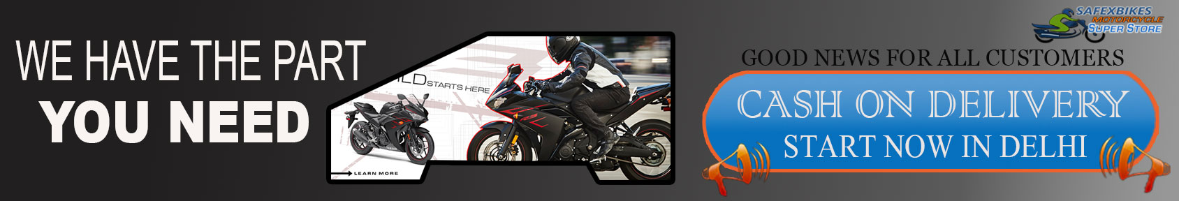 Special offers on Genuine Motorcycle Spare Parts And Accessories - Cash On delivery