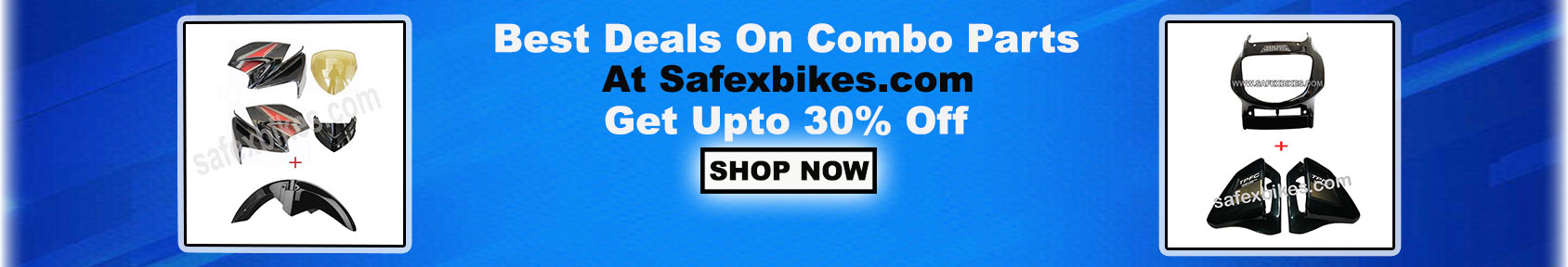 Special offers on Genuine Motorcycle Spare Parts And Accessories - Buy Combo parts and get upto 30 percent off