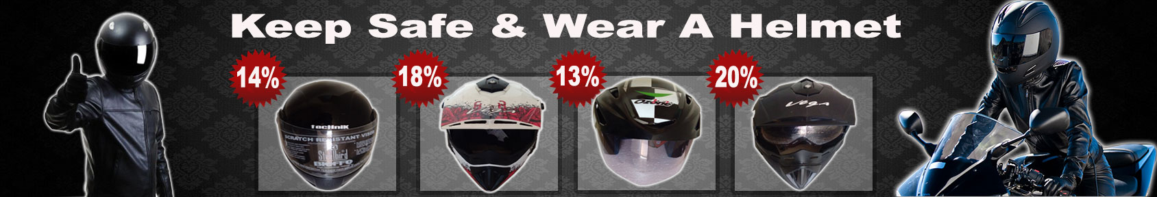 Special offers on Genuine Motorcycle Spare Parts And Accessories - Buy Helmets at lower rates